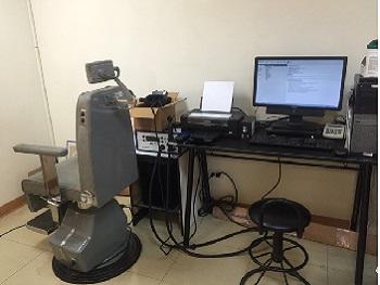 影像眼振圖(VNG)及溫差測試(caloric test)