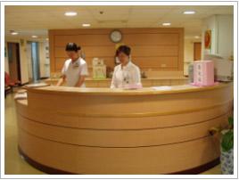 健檢中心櫃檯