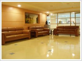 婦科檢查室外的等候區
