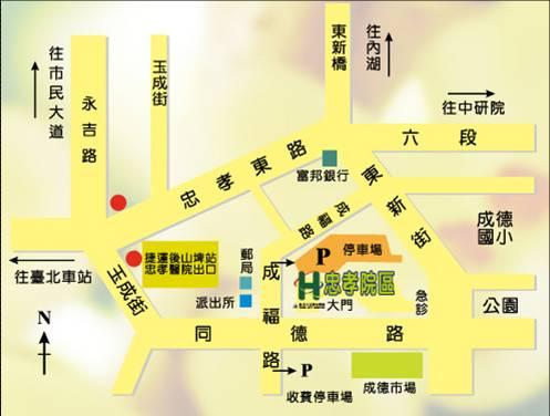 護理之家地圖