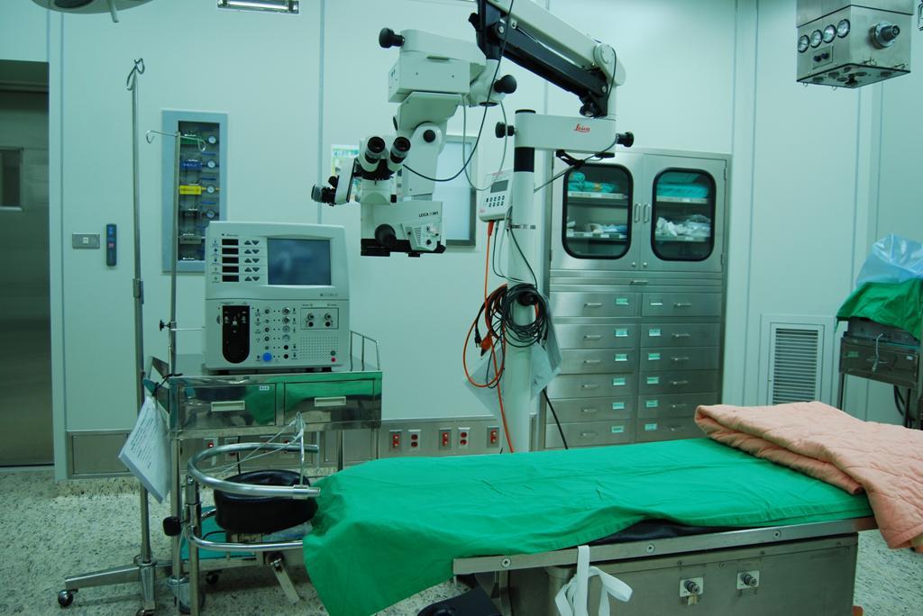 眼科視網膜手術室設備