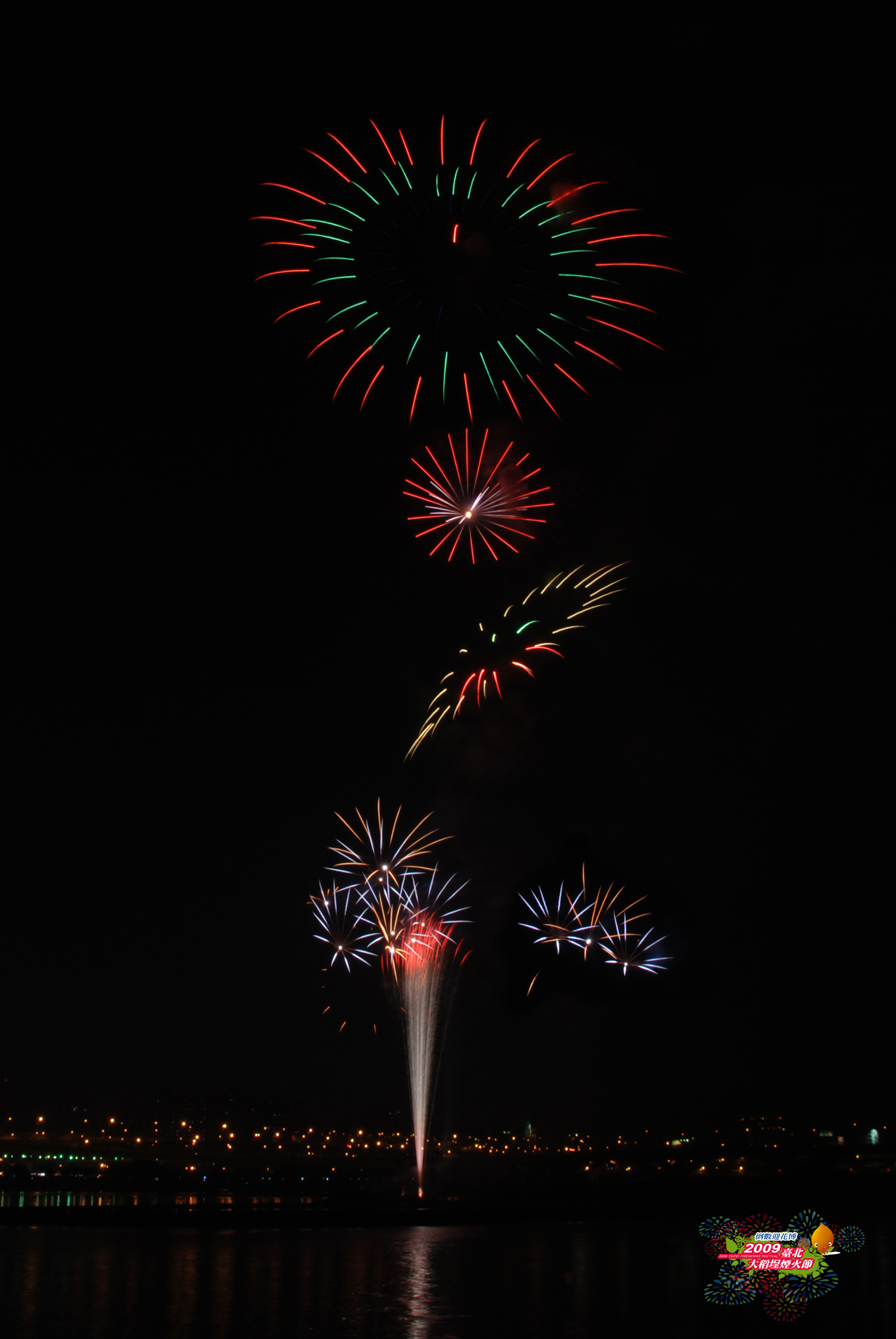 (另開視窗)2009大稻埕煙火音樂節6,大稻埕高空煙火