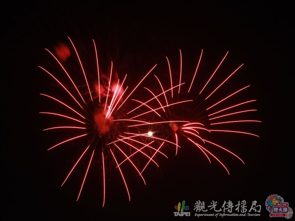 (另開視窗)2008大稻埕煙火音樂節1,大稻埕高空煙火