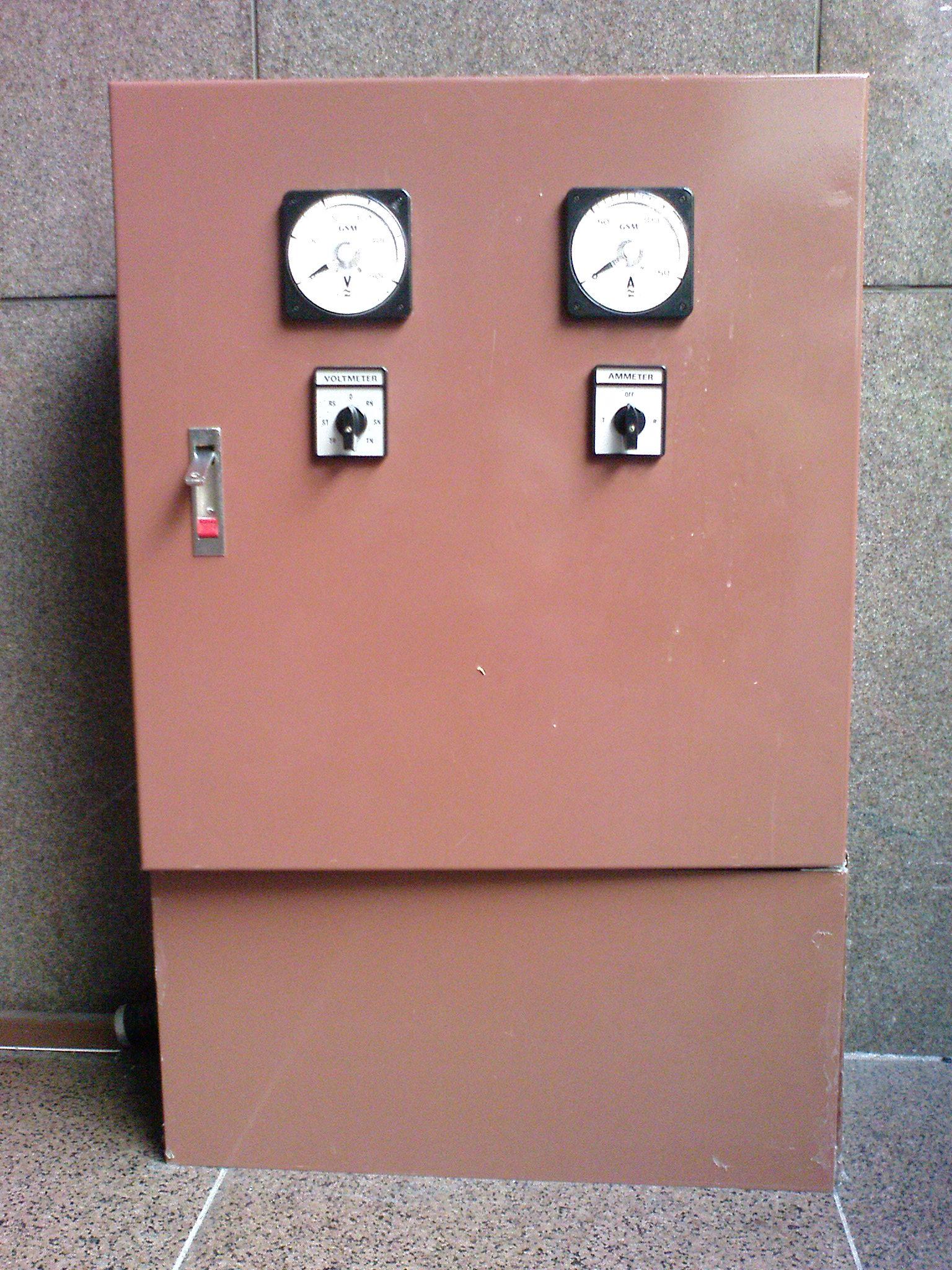 沈葆楨廳供電電箱外觀