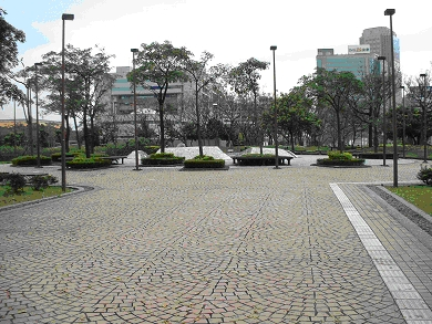 市政大樓周邊場地流水噴泉區02