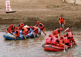 防災演習—沙洲救援