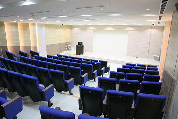 "Auditorium - 108"" motorized projector scree"