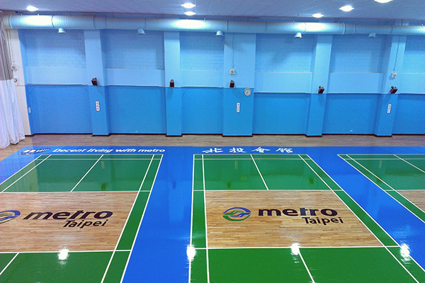 Badminton Court(Left Side)