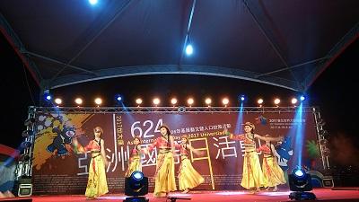 齊舞飛揚舞蹈團演出高原紅及康定情歌