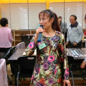Performing Taiwanese songs