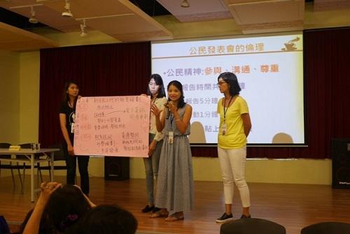 Presenting proposals