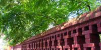 孔廟圍牆剪影