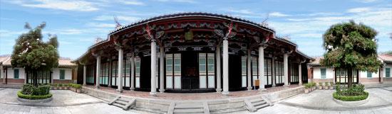 孔廟內一景崇聖祠照片