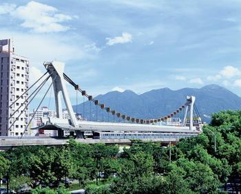 淡水線劍潭站示意圖