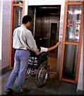 無障礙電梯示意圖