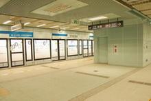 車站主題色-黎明藍示意圖