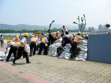 When a Typhoon Warning is Issued, the Maintenance Crew are Required to Standby Immediately.