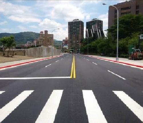 Road renewable for Muxin road bridge
