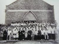 湖光基督教會教堂落成來賓合影
