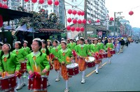 碧湖國小鼓樂隊參與社區活動
