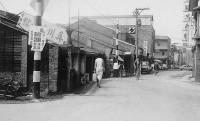 七O年代,內湖路二段老街景觀