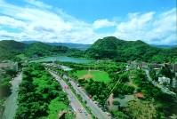 大湖公園俯視景觀