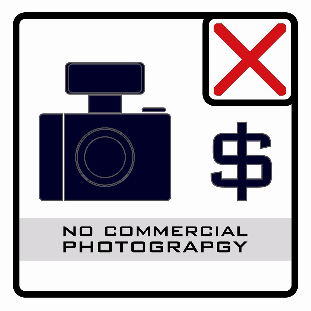 【icon】禁止商業攝影