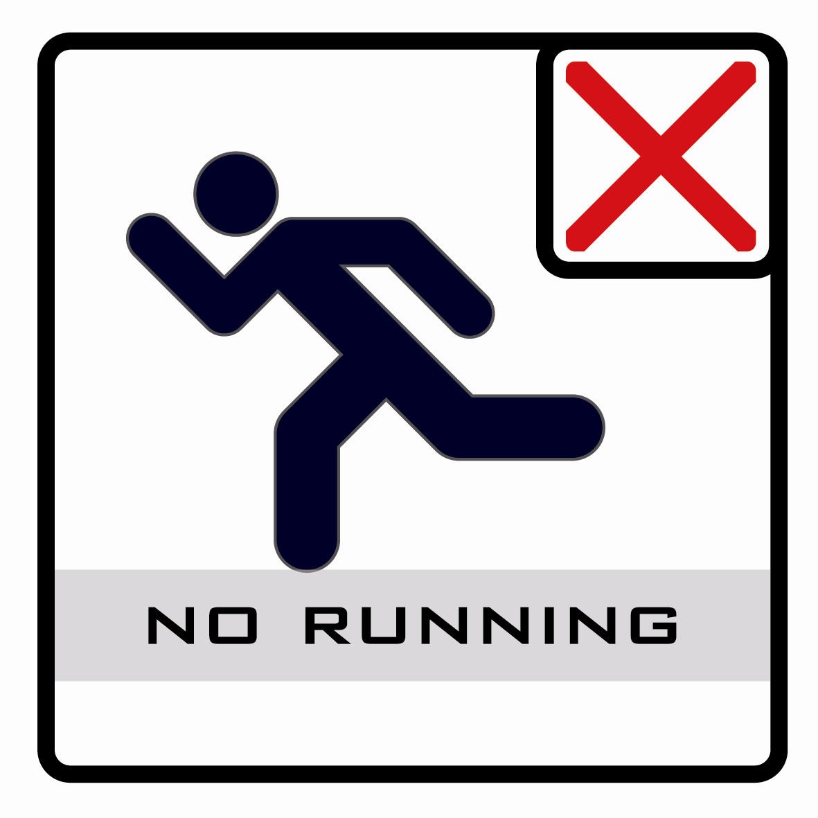 【icon】禁止奔跑