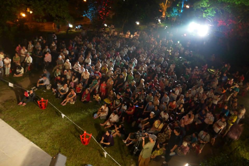 2014月琴祭戶外音樂會盛況