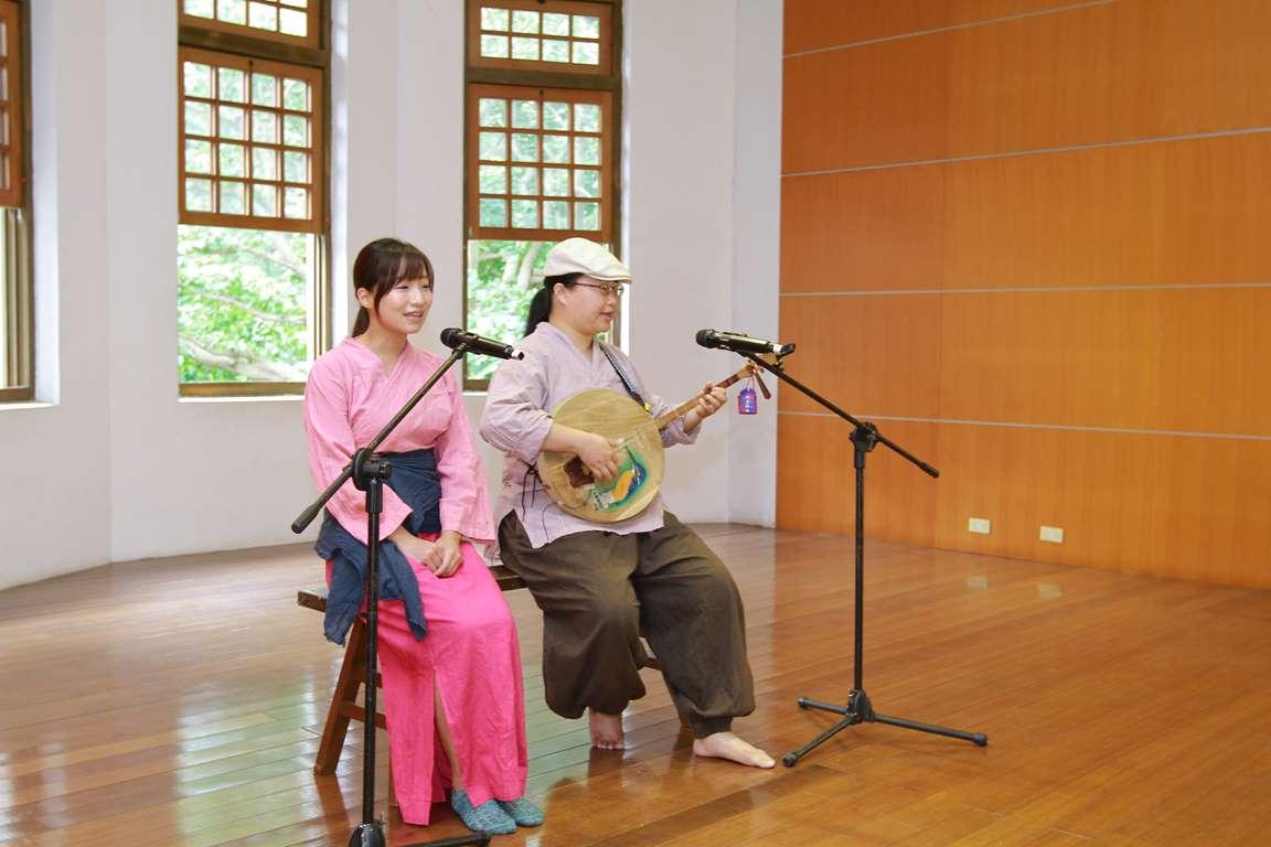 2015館慶記者會-月琴協會表演
