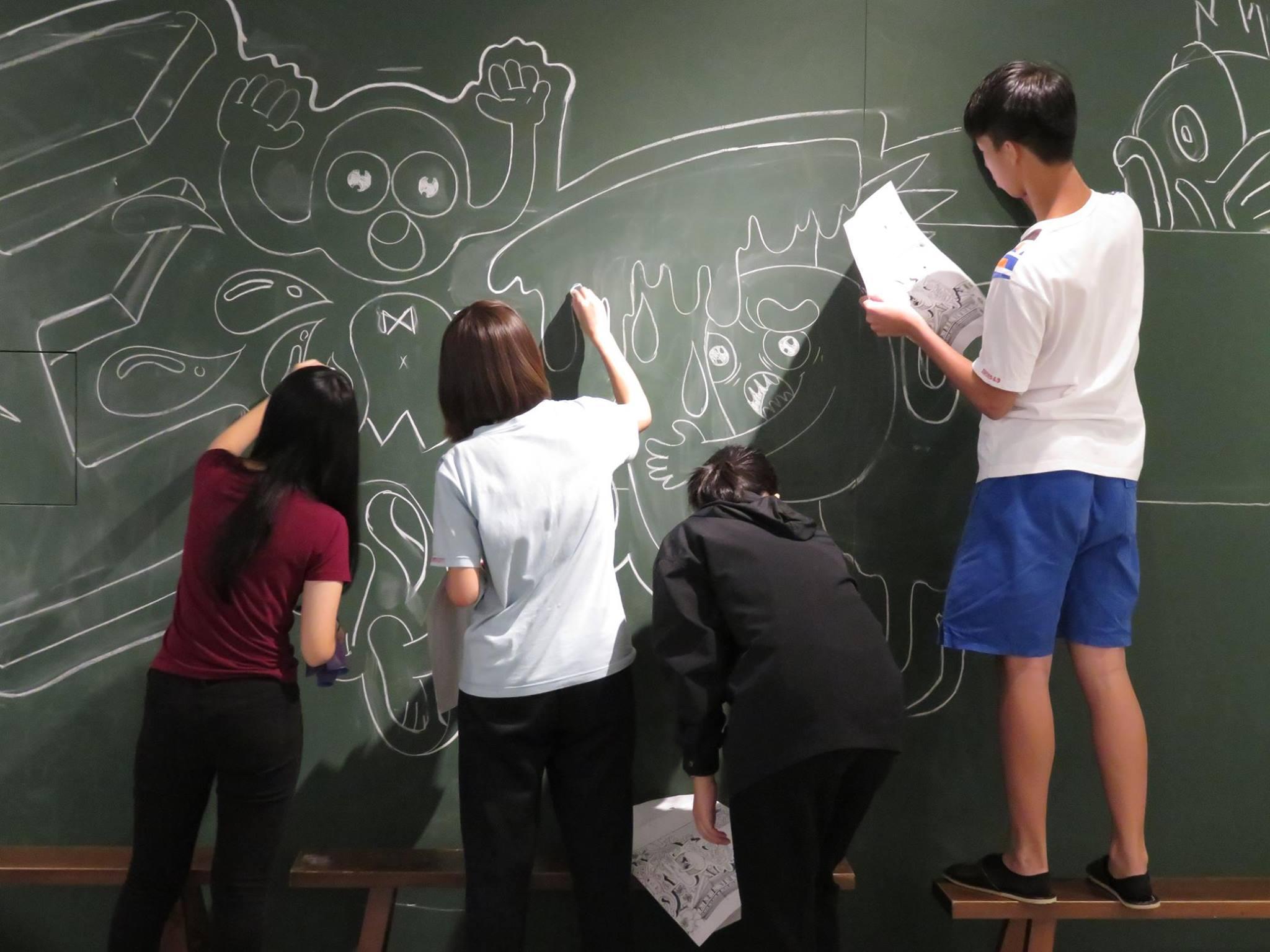 2016北投聚繪第3場-作畫01