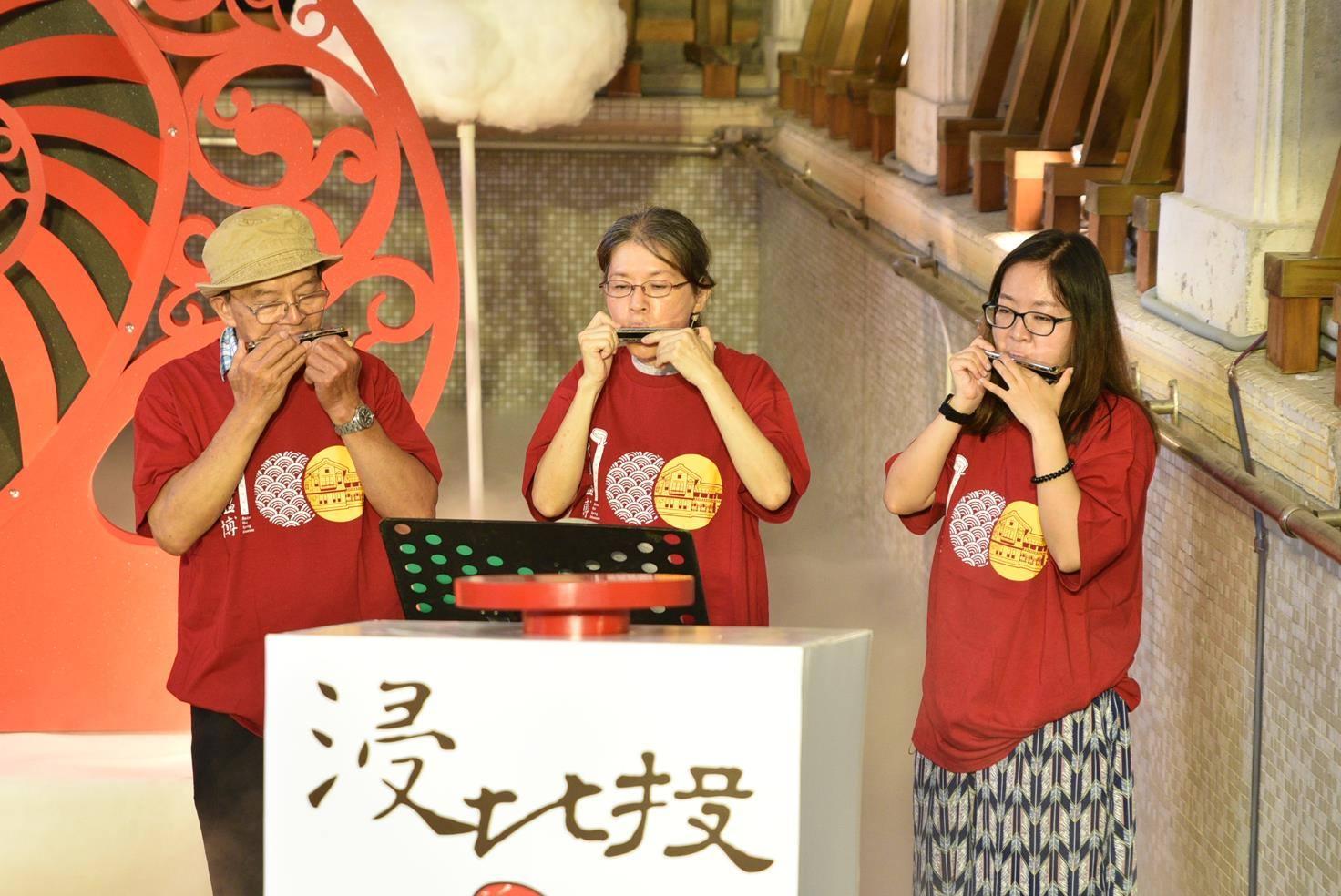 2016館慶記者會-北投社大口琴班
