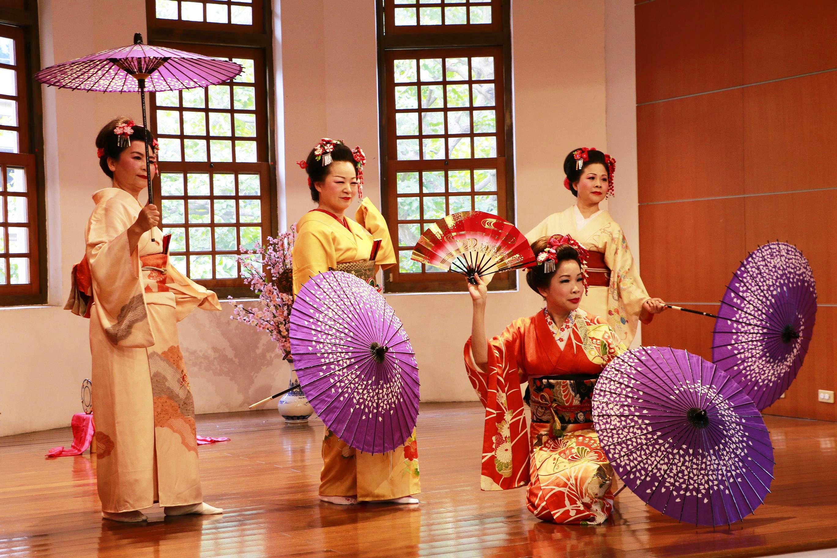 2017春季活動表演05-日本舞