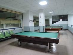 B1-體育館-撞球桌