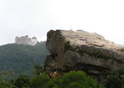 軍艦岩照片