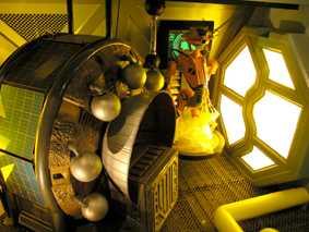 宇宙探險船艙