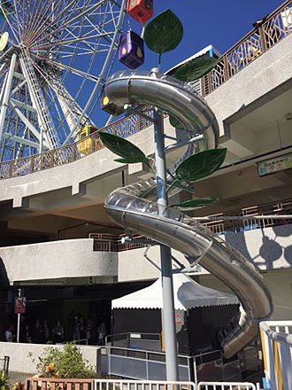 NanE Happy Wonderland-Good Slide—Spiral Tube Slide
