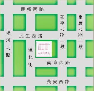 大稻埕戲苑地圖