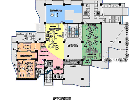 First Floor Plan And Directory