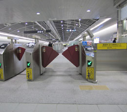 Ticket Gates for the Disabled