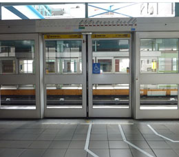 Waiting Areas for Wheelchair Passengers-Wenhu Line