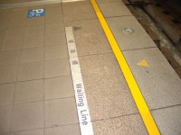 High-capacity system Yellow Warning Strip