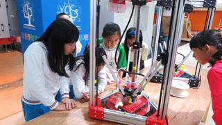 校外教學碰3D列印,小學生喊酷