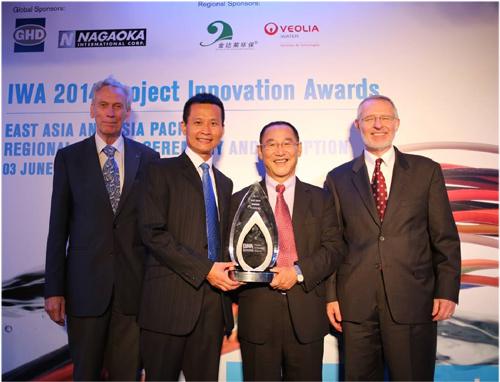 榮獲2014年國際水協會工程革新獎東亞區計畫類競賽榮獲首獎圖片