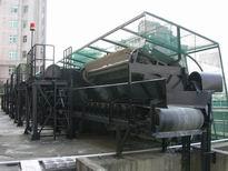 迴轉式撈污機撈污耙側面