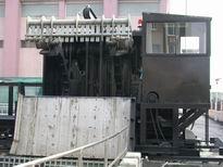 行走式撈污機主控台側面