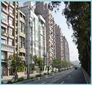 中山區第七期重劃後,新建大廈密集,交通便捷