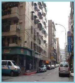 中山區第九期重劃後,街道整齊,房子井然有序