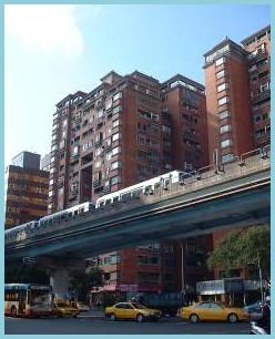 中山區第五期重劃後,交通便利,促進發展