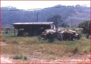 內湖區第八期重劃前,土地荒廢,房舍簡陋,利用價值低之二
